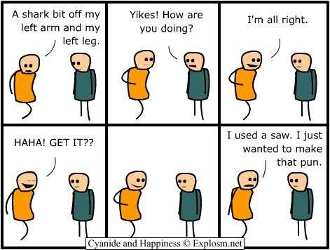 Cyanide and Happiness All Right